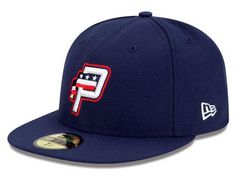Potomac Nationals Authentic Collection On-Field 59FIFTY Home Fitted Cap