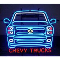 GM Chevy Trucks Neon Sign
