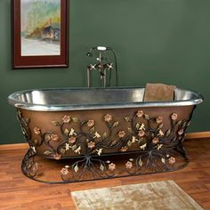 Antique Copper Tub - Nottingham Brass http://www.steampunktendencies.com/post/74647022262/