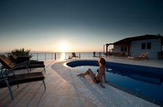 Holiday Villa in Chania, Crete - Tersanas Villa Petros with private pool and seaview