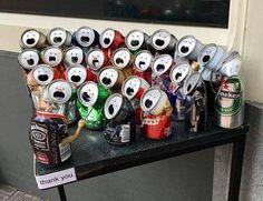 Aluminum can / beer can chorus