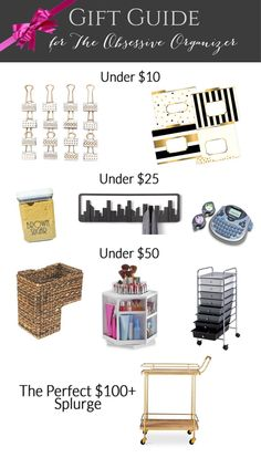 Gift Guide for the Organizing Obsessed (AND 60+ Other Gift Guides & Giveaways!)