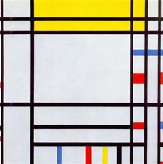 Place de la Concorde -   Artista: Piet Mondrian (1872-1944) Data do início: 1938 Data da Conclusão:1943 Estilo: Neoplasticism Género: abstract Técnica: oil Material: canvas