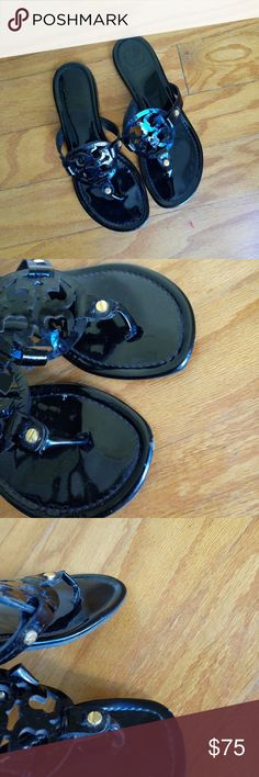 AUTHENTIC TORY BURCH sandals Great used condition Tory Burch Shoes