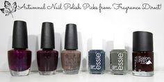 HaySparkle: Autumnal Nail Polish Picks from Fragrance Direct!