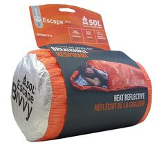 AMK SOL Escape Bivvy - Orange - Breathable Emergency Survival Shelter
