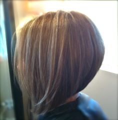 Graduated bob - timeless style