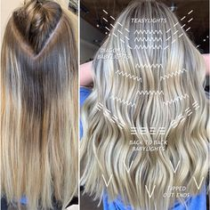 5 Placement Tips For Blonde Foils, Hair Foils, Toner For Blonde Hair, Babylights Blonde, Brassy Blonde, Hair Color Placement, Hair Color Formulas, Hair Color Techniques, Balayage Hair