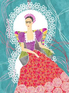 Frida Illustration