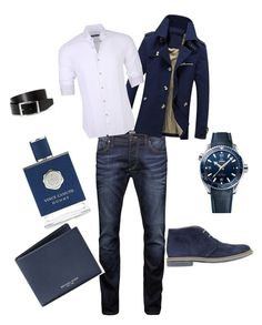 """Untitled #24"" by pentecostal-apostolicfashion2016 on Polyvore featuring Jack & Jones, Stone Rose, Vince Camuto, OMEGA, Michael Kors, Brimarts, HUGO, men's fashion and menswear"