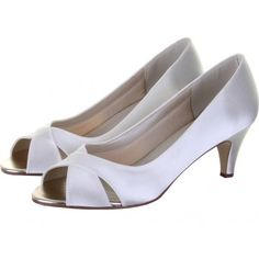 Also lots of nice shoes on this UK site Evie Satin Peep Toe Shoes