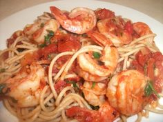 Shrimp Fra Diavolo INGREDIENTS 1 pound of medium sized shrimp peeled and deveined 1/2 red bell pepper chopped 1/2 green bell pepper chopped 1 bunch of long green onions chopped 1 carrot chopped 1 stalk of celery chopped 2 cloves of garlic chopped 3 Tbls of extra virgin olive oil 1 Tbls of butter 1 …