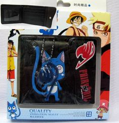 Fairy Tail wallet And Necklace FLWL8820