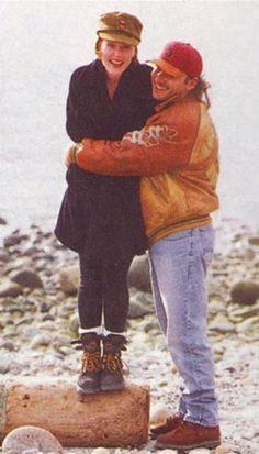 Gillian Anderson & Clyde Klotz