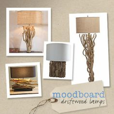 Brilliant DIY Decor Ideas for The Bedroom - Driftwood Table Lamp - Rustic and Vintage Decorating Projects for Bedroom Furniture, Bedding, Wall Art, Headboards, Rugs, Tables and Accessories. Tutorials and Step By Step Instructions http:diyjoy.com/diy-decor-bedroom-ideas