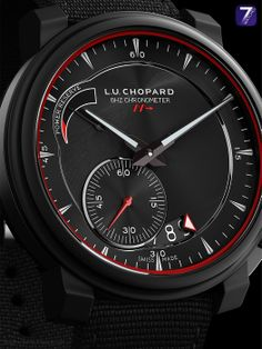 CHOPARD – L.U.C 8HF Power Control Limited Edition