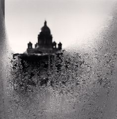 Michael Kenna | St. Isaac's Cathedral, St. Petersburg, Russia  Beautiful, creative view of an iconic location
