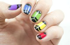 She might roll her eyes at your fashion suggestions, but we promise these nail art ideas are totally on trend.