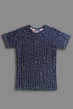 2f502f6e722b Ricardo Andrez Blue T-shirt Blue T