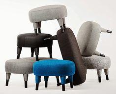 Lo que le ha dejado el minimalismo al diseño mobiliario moderno son las formas limpias, colores planos, pero la manera en la que se ha actualizado para este primer trimestre de 2015 es mediante un sutil remate redondeado en diversas propuestas de la disciplina.