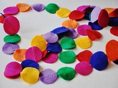 kleurrijke slinger