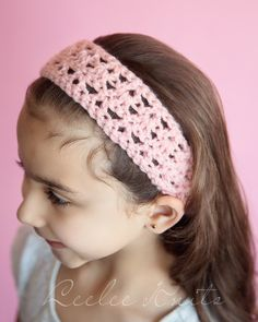 20 Minute Free Crochet Headband Pattern For Beginners - Leelee Knits