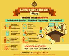 Get Tuition-Free Bachelors in Islamic Studies, Economics, Psychology and Education with Islamic Online University! HURRY UP!! Next semester starts in March in sha Allah! www.iou.edu.gm and register now! Kindly email us at info@iou.edu.gm for any more details in sha Allah  #Islam #Education #Free #Bachelors