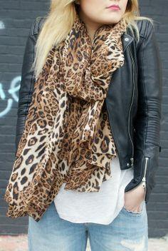 Chiffon Leopard Print Scarves,Leopard Print Scarves for Fashion Girls,Chiffon Scarves in 2013 Fall/Winter