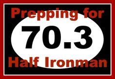 Prepping for a race is necessary, and I talked about what I'm doing to get my body ready for the race in my previous post The Road to Half Ironman 70.3. But w