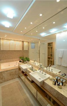 banho master / bathroom / apartamento decorado / home decor / bohrer arquitetura / interior design