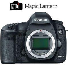 Canon EOS 5D Mark III Magic Lantern RAW Install with Technicolor CineStyle Profile