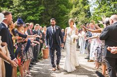 Jamie-Lee and Daniel's Elegant White and Gold Tipi Wedding in Northumberland by Andy Hud...