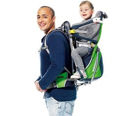 this also makes a great baby carrier backpack for your trips ...