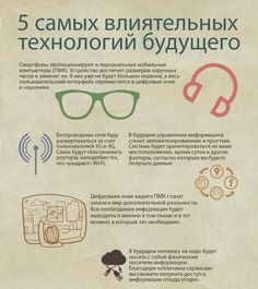 5 самых влиятельных технологий будущего [инфографика]