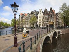 Photographic Print: Keizersgracht, Amsterdam Poster by Amanda Hall : Amsterdam City, Amsterdam Netherlands, Yosemite National Park, National Parks, Ways Of Seeing, Cool Posters, Poster Prints, Poster Poster, Places To Go