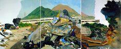 liu xiaodong Festering Heat, 2008 [oil on canvas]