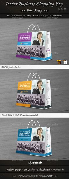 Tradex Business  Shopping Bag 10695993