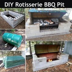 DIY Rotisserie BBQ Pit Pictures, Photos, and Images for Facebook, Tumblr, Pinterest, and Twitter
