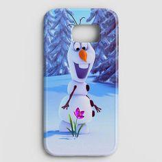 Olaf Disney Frozen Quotes Warm Hug Samsung Galaxy S7 Case | casescraft