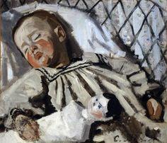 "Claude Monet: ""Jean Monet Sleeping"", 1867-68"