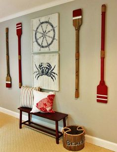 boys nautical themed bedroom, bedroom ideas, repurposing upcycling, wall decor
