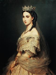 Graefle - Charlotte, Empress of Mexico (mexican women have gone backwards in evaluation since this woman)