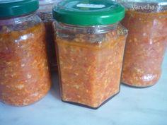 Pikantná nátierka na toasty - sterilizovaná - Recept Salsa, Toast, Jar, Food, Red Peppers, Essen, Salsa Music, Meals, Yemek