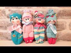 КУКЛЫ ИЗ НОСКОВ СВОИМИ РУКАМИ.. How to make a doll from a sock - YouTube
