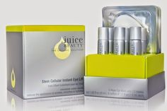 Style Bistro's Current Obsession: Juice Beauty Stem Cellular Instant Eye Lift!