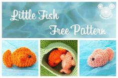 """Little Fish"" Amigurumi pattern on Craftsy.com-(FILED)"