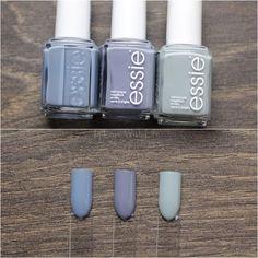 Essie: Truth or Flare // Essie: Pedal Pushers // Essie: Maximillian Strasse Her