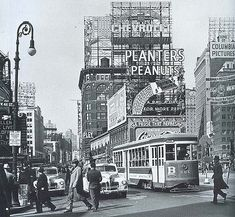 Time Square New York City 1940's