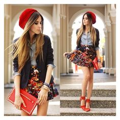 Flávia Desgranges van der Linden ❤ liked on Polyvore featuring outfit, people, lookbook, cure and full outfit