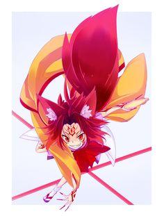 No game no life Otaku, Game No Life, Fairy Tail Girls, Pokemon People, Fox Girl, Troll, Cool Animations, Manga Games, Kawaii Anime Girl